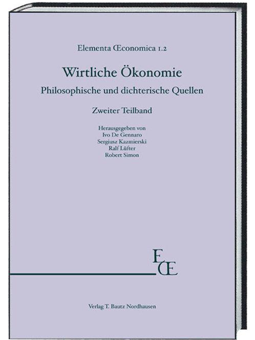 Philosophische und dichterische Quellen Zweiter Teilband