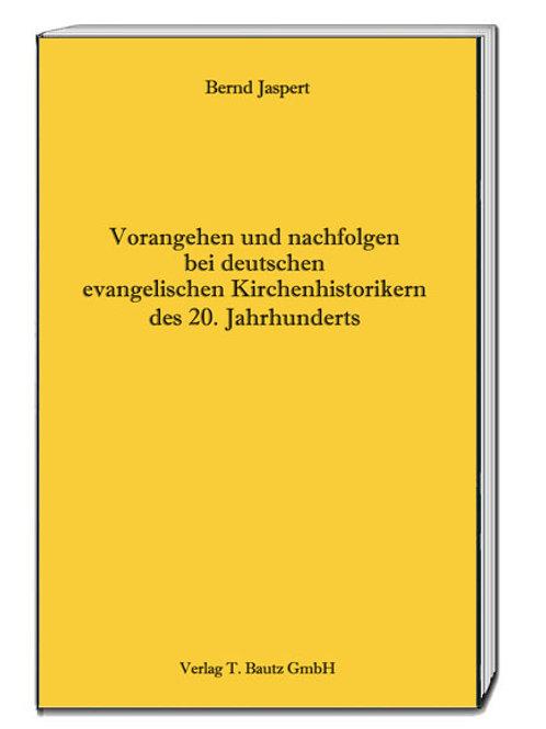 Bernd Jaspert - Vorangehen und nachfolgen ...