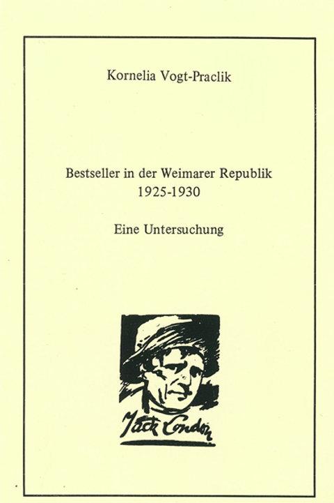 Bestseller in der Weimarer Republik 1925-1930