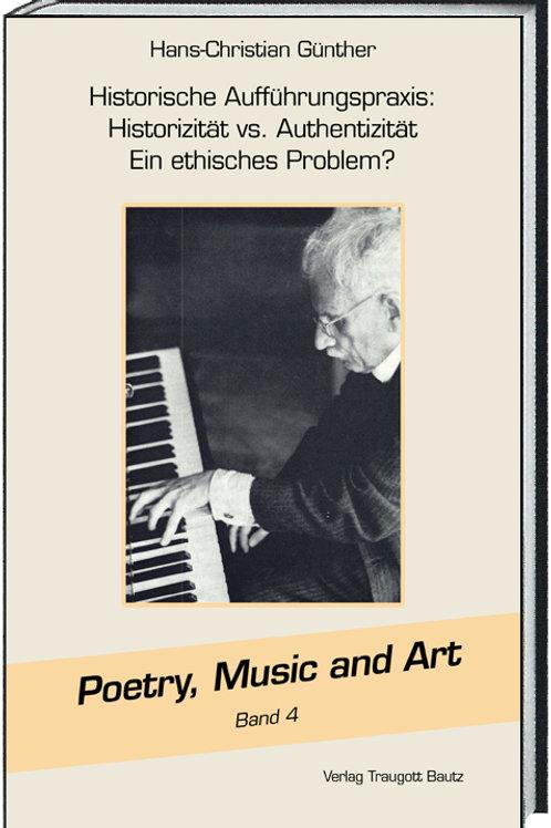 Hans-Christian Günther 'Historische' Aufführungspraxis