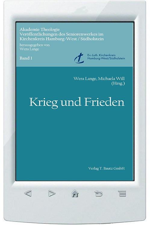 E-Book Wera Lange, Michaela Will (Hrsg.) - Krieg und Frieden -