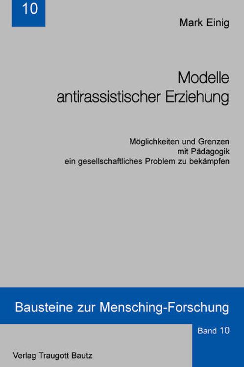 Modelle antirassistischer Erziehung