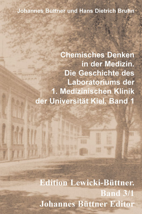 Chemisches Denken in der Medizin.