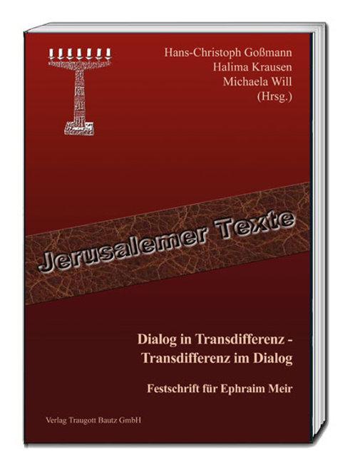 Goßmann, Krausen, Will (Hrsg.) Dialog in Transdifferenz
