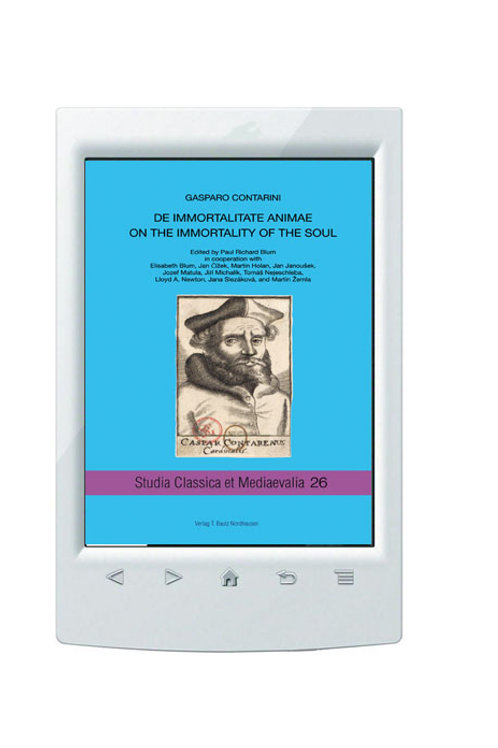 E-Book/ Paul Richard Blum (ed.) - Gasparo Contarini, Studia Classica Bd. 26