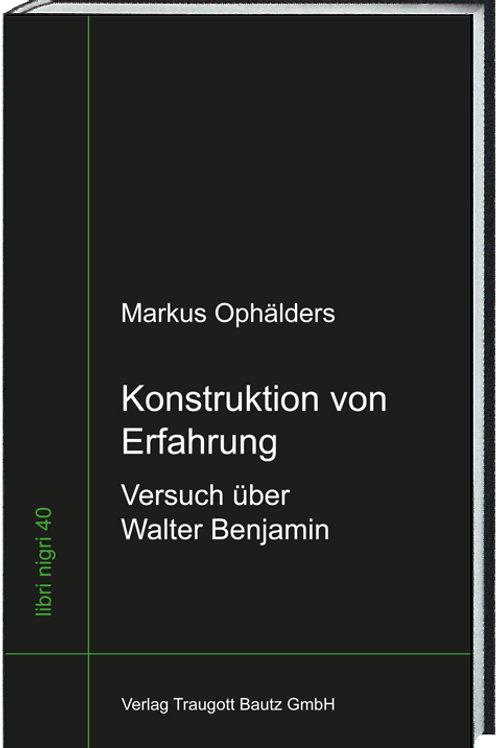 Markus Ophälders - Konstruktion von Erfahrung