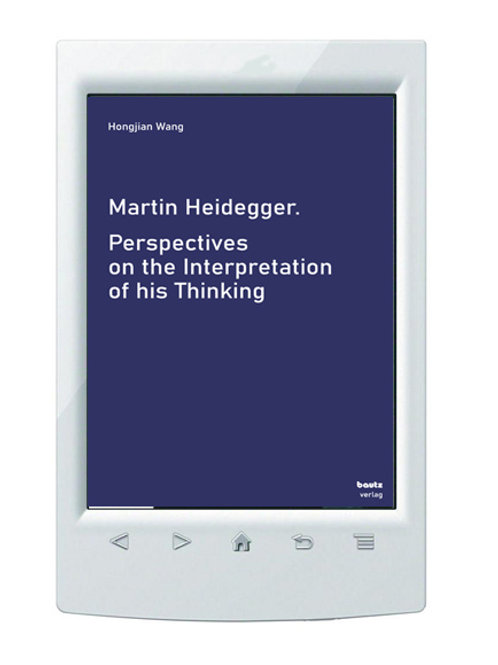 E-Book/ Hongjian Wang - Perspectives on the Interpretation of his Thinking