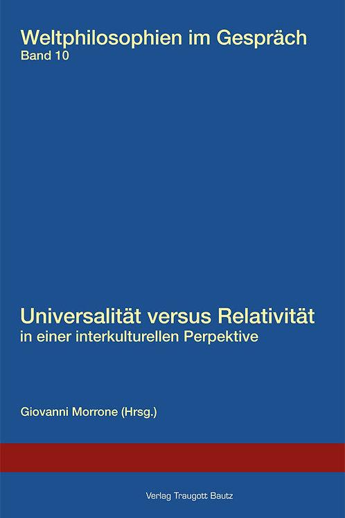Giovanni Morrone (Hrsg.) Universalität versus Relativität