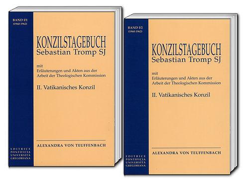 II. VATIKANISCHES KONZIL BAND I/1 und BAND I/2 (1960-1962)