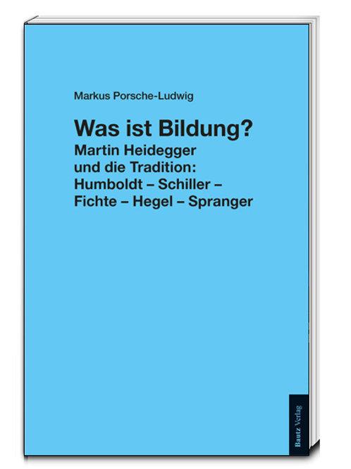 Markus Porsche-Ludwig - Was ist Bildung?