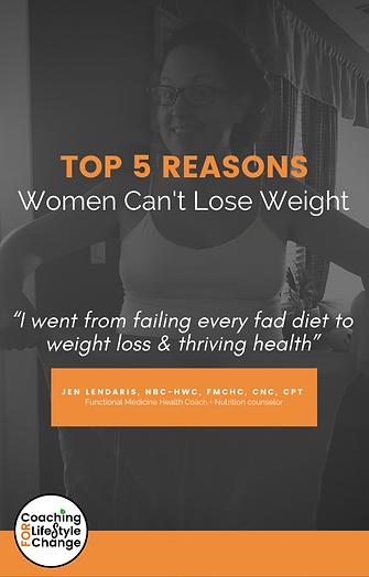Top 5 reasons Women cant lose weight.cov