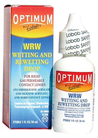 Optimum by Lobob® WRW Wetting/Rewetting Drop 1-oz.