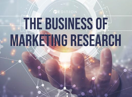 Just Published: The Business of Marketing Research