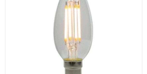 21 LED CANDLE CLEAR B15