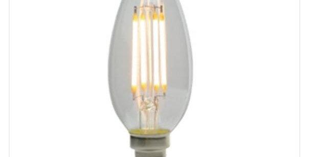 21 LED CANDLE CLEAR E14