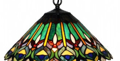 13 P16003 Leadlight Pendant 16""