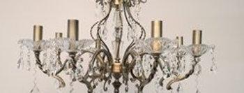 02 GIOVANA Bronze Crystal Chandelier Series