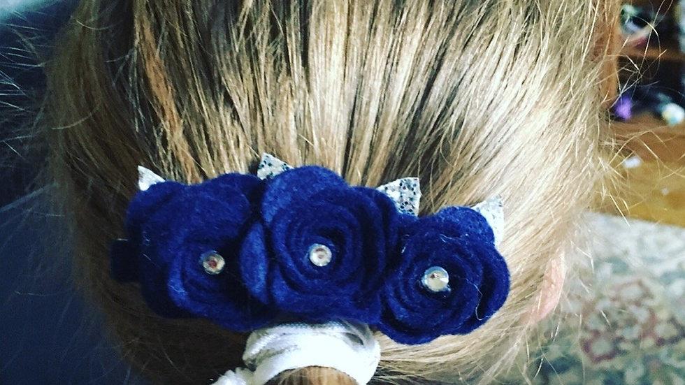 Stunning floral hair clip