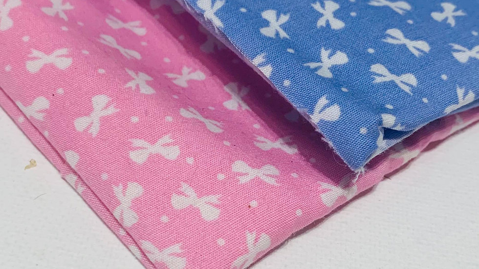 Pink or Blue bow