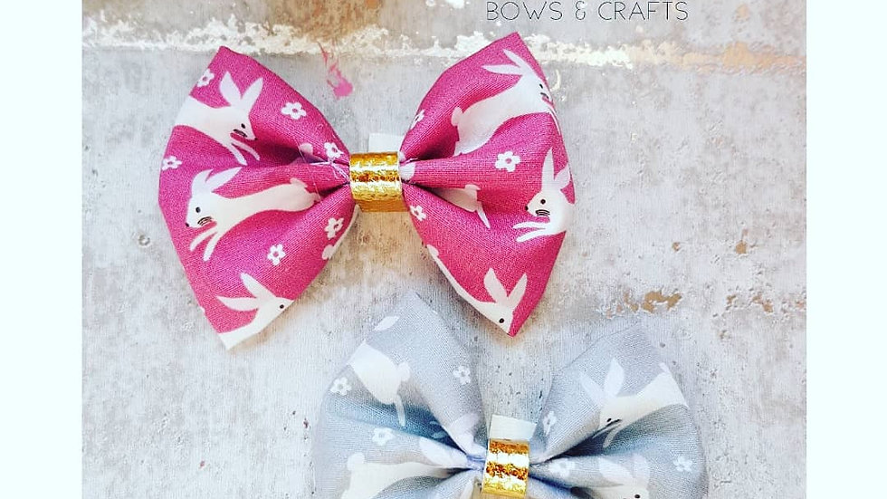 Bunny cotton pinch bows