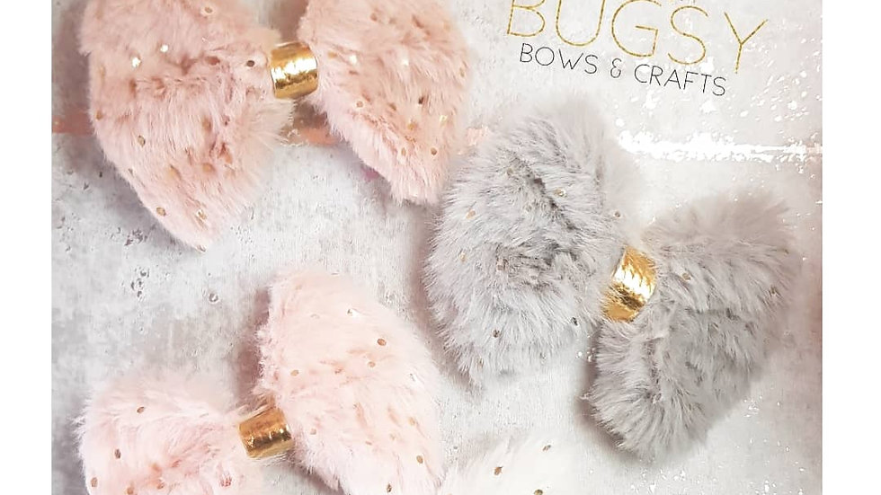 Fluffy bows