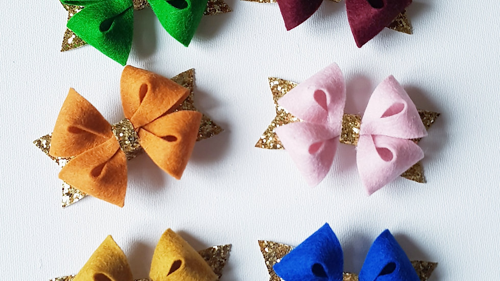 French star bow