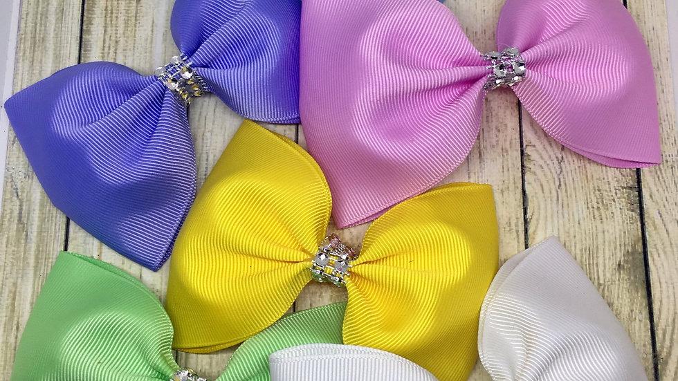 Large tux ribbon bow