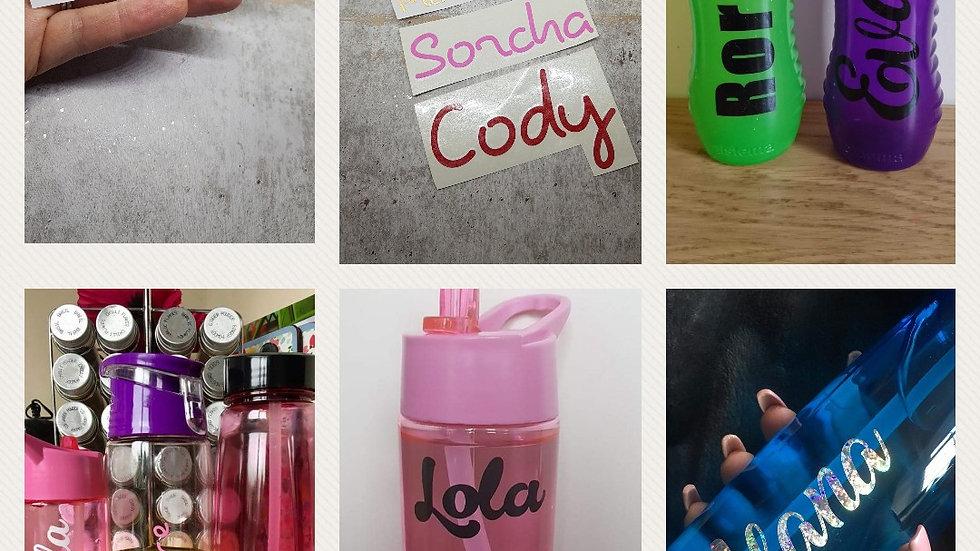 Bottle stickers