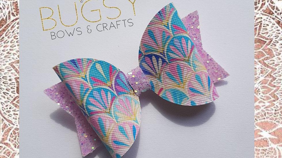 Colourful hair bow