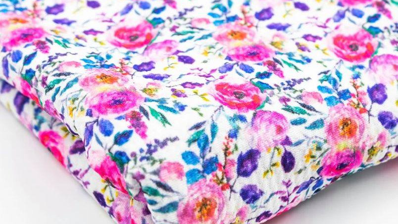 Pink and Purple floral