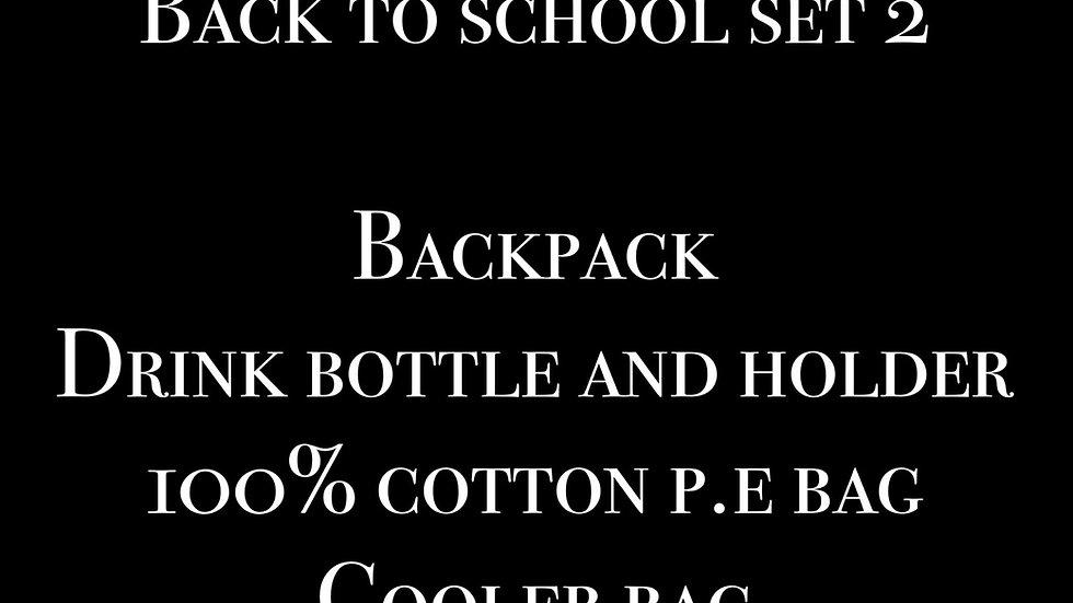 Back to school set 2