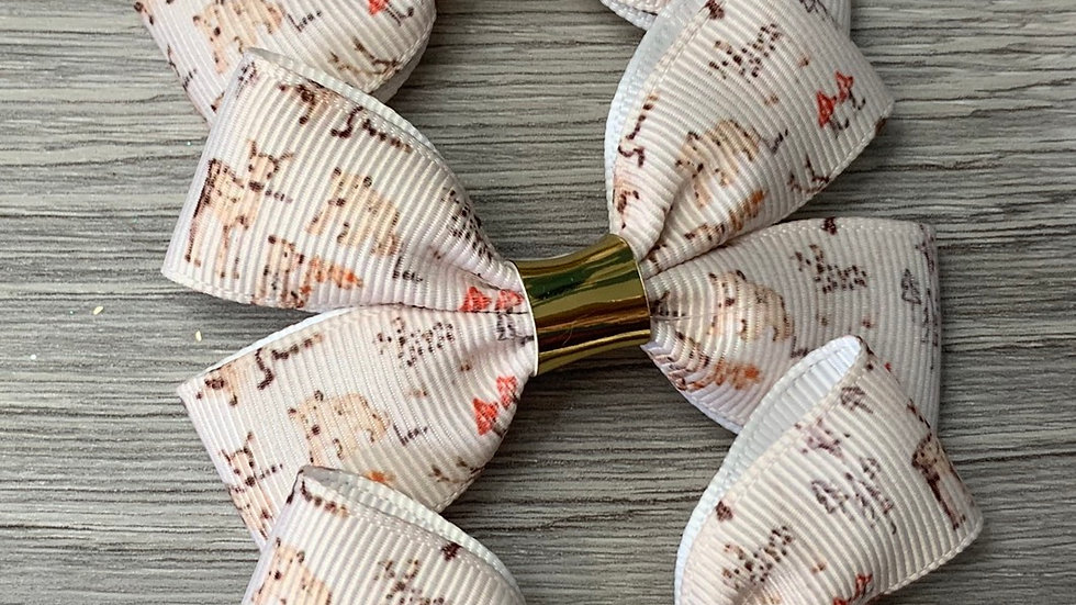 Winter woodland ribbon bows
