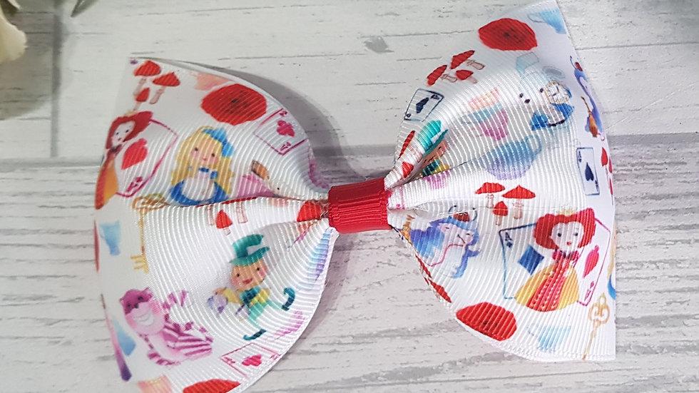 Tea party large tux bow
