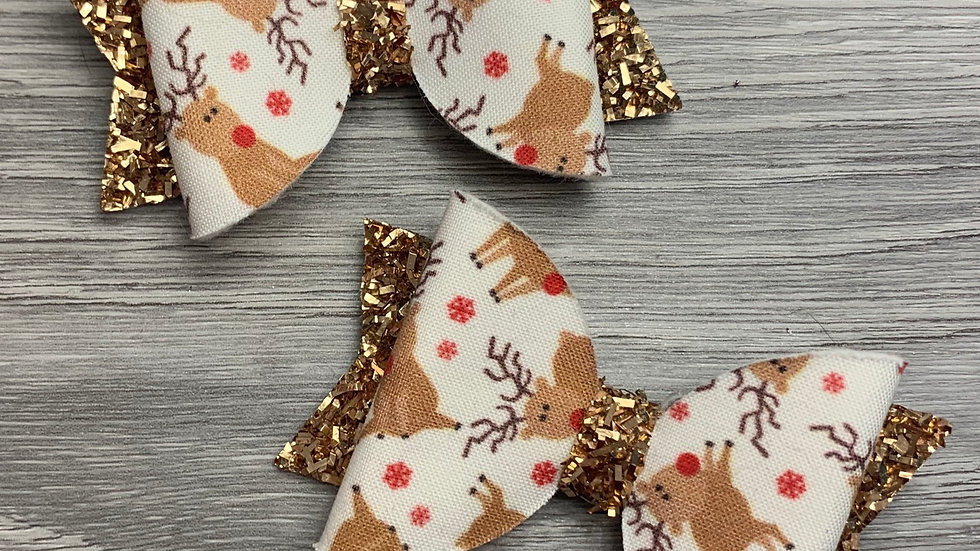Reindeer dolly bow