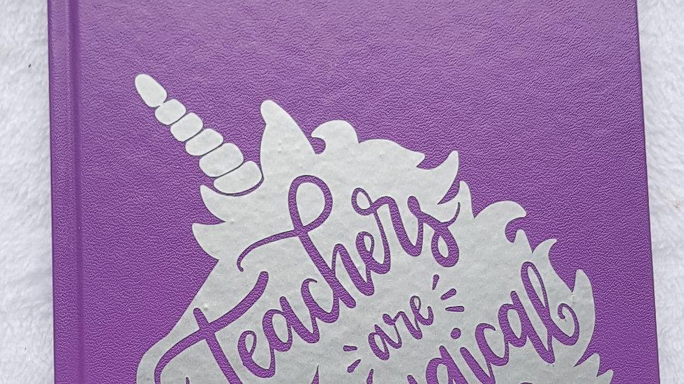 Teacher academic diaries
