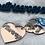 Thumbnail: Parent and child heart keyring
