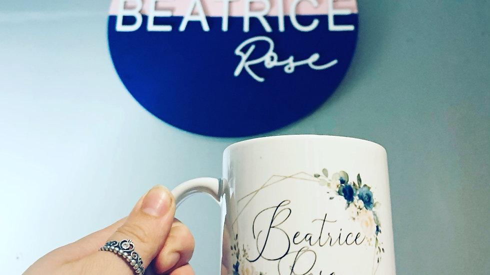 Business logo mugs