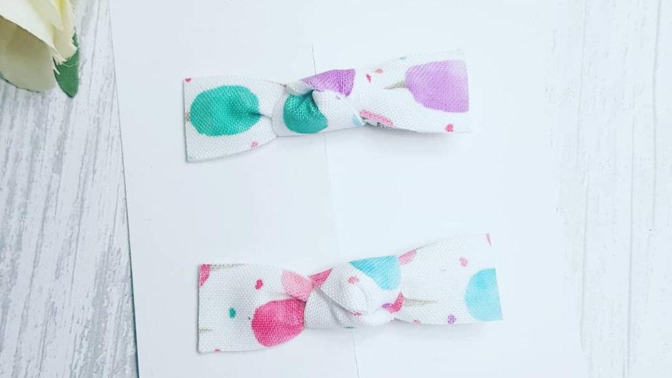 Candyfloss ice cream fringe clip