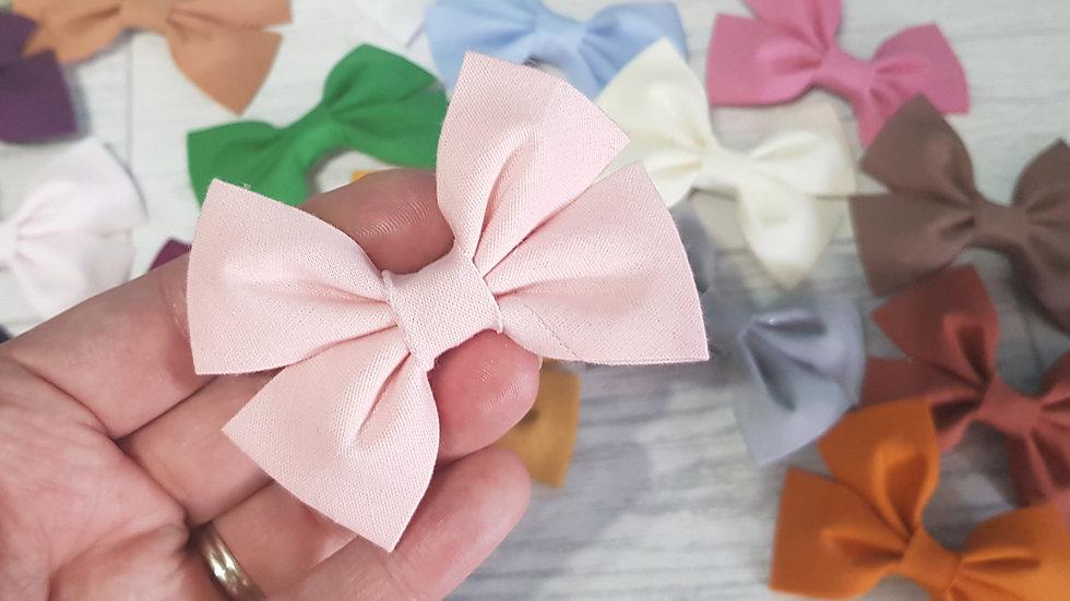 100% cotton bows