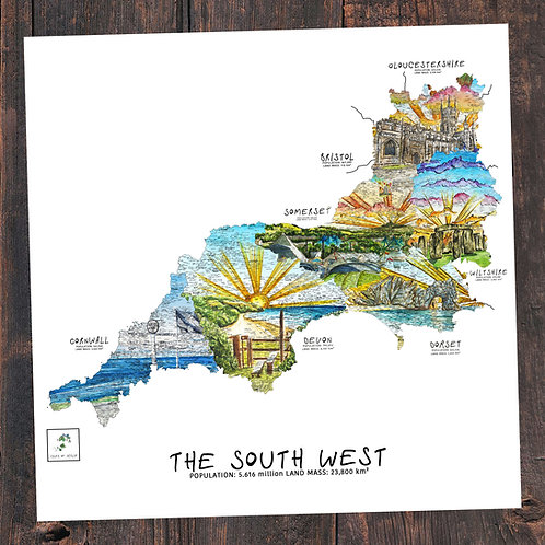 South West Maps