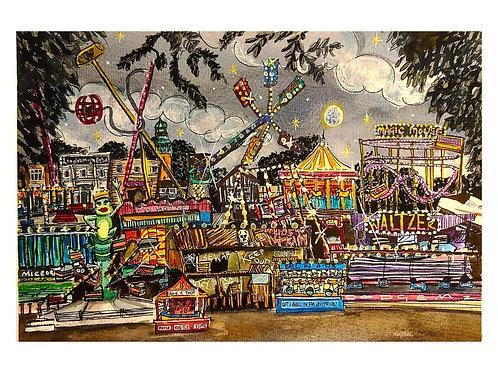 Loughborough Fair Print
