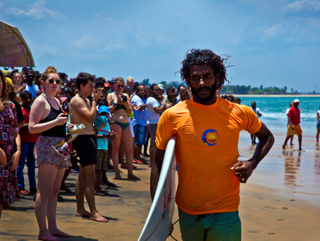 The First National Surfing Championship of Sri Lanka