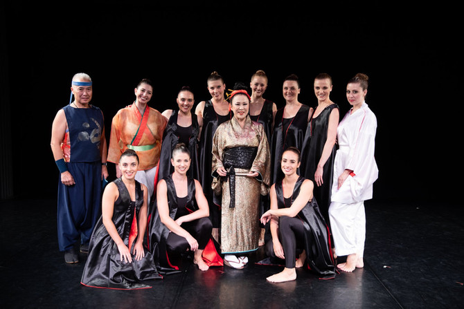 Keiko Fujii Dance Company at Gibney