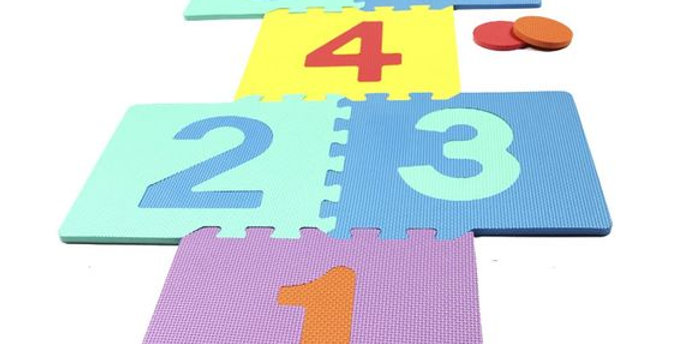 Gravolite EVA Kids Interlocking Numeric Mats