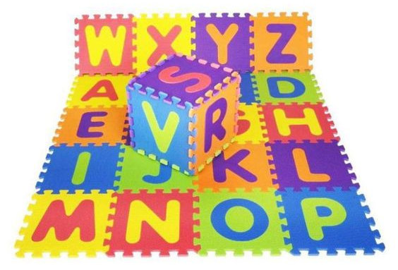 Gravolite EVA Kids Interlocking Alphabet Mats
