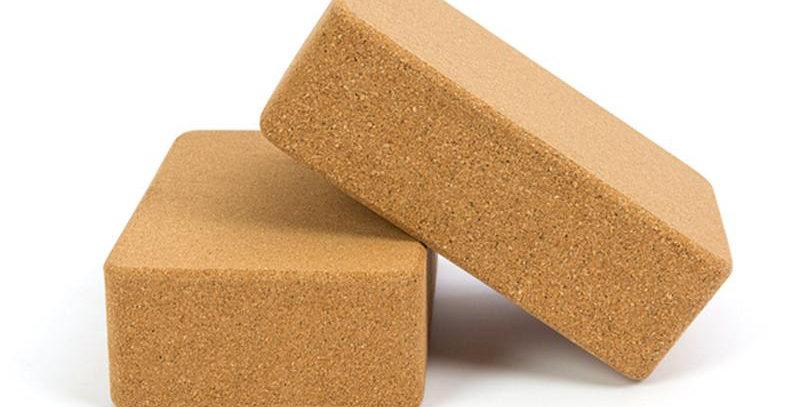 Gravolite Cork Yoga Block/ Bricks
