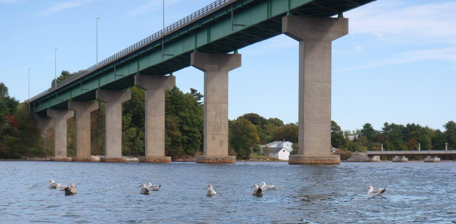 Passagassawakeag bridge Belfast Maine