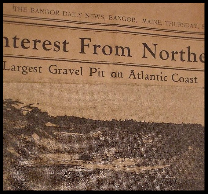 Largest Gravel Pit on Atlantic Coast