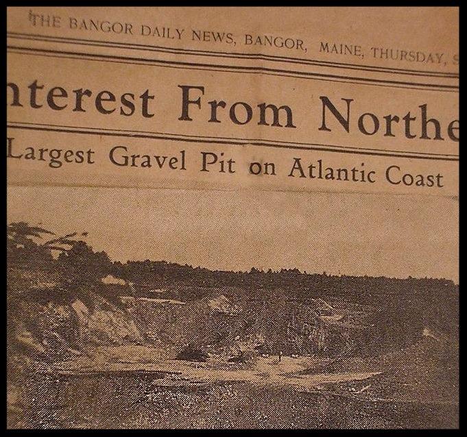 Largest Gravel Pit on Atlantic Coast
