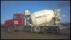 State Sand & Gravel Inc. Mixer Truck